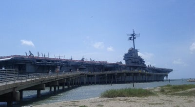 Photo of Beach Beach by the USS Lexington at TX, United States