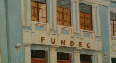 Photo of Concert Hall FUNDEC at Endereço:rua Brigadeiro Tobias, 73 - Centro, Sorocaba, Brazil