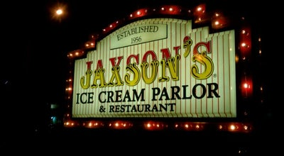 Photo of Ice Cream Shop Jaxson's Ice Cream Parlour, Restaurant & Country Store at 128 S Federal Hwy, Dania, FL 33004, United States