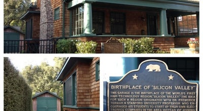 Photo of Historic Site HP Garage at 367 Addison Ave, Palo Alto, CA 94301, United States