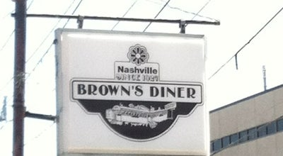 Photo of Diner Brown's Diner at 2102 Blair Blvd, Nashville, TN 37212, United States
