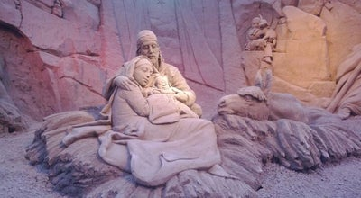 Photo of Art Gallery Sand Nativity at Italy