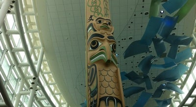 Photo of Historic Site Totem Pole at Yvr Airport, Richmond, BC, Canada