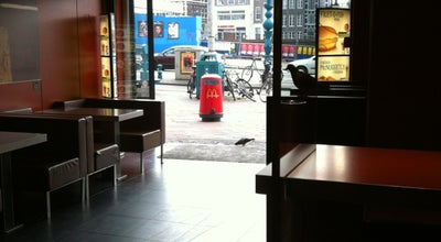 Photo of Fast Food Restaurant McDonald's at Damrak 8, Amsterdam 1012 LG, Netherlands