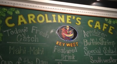 Photo of American Restaurant Caroline's Cafe at 310 Duval St, Key West, FL 33040, United States