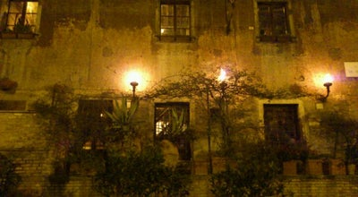 Photo of Italian Restaurant Taverna dei Mercanti at Piazza Dei Mercanti, 3a, Rome 00153, Italy