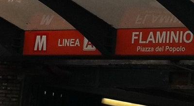 Photo of Subway Metro Flaminio - Piazza del Popolo (MA) at Piazzale Flaminio, Roma 00196, Italy