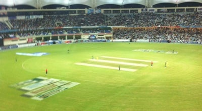 Photo of Cricket Ground Dubai Sports City Cricket Stadium at United Arab Emirates