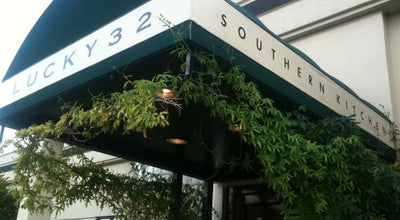 Photo of Southern / Soul Food Restaurant Lucky 32 Southern Kitchen at 1421 Westover Terrace, Greensboro, NC 27408, United States
