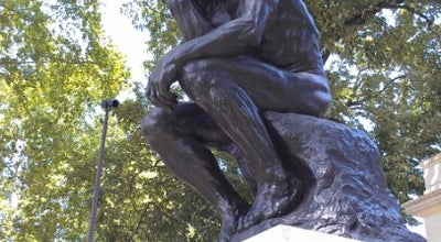 Photo of Outdoor Sculpture The Thinker at 22nd & Benjamin Franklin Pkwy, Philadelphia, PA 19130, United States