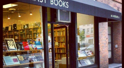 Photo of Bookstore Mast Books at 66 Ave A, New York, NY 10009, United States