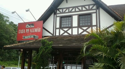 Photo of German Restaurant Casa do Alemão at Estr. Ayrton Senna, 927, Petrópolis 25650-340, Brazil
