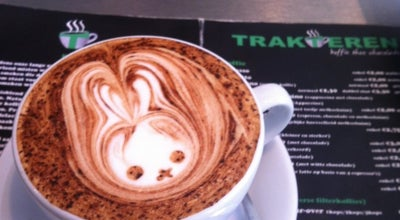 Photo of Cafe Trakteren Koffie at Jan Pieter Heijestraat 119a, Amsterdam 1054 MD, Netherlands