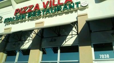 Photo of Italian Restaurant Pizza Villa at 13112 Spring Hill Dr, Spring Hill, FL 34609, United States