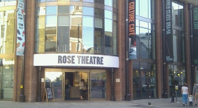 Photo of Theater Rose Theatre Kingston at 24-26 High Street, Kingston upon Thames KT1 1HL, United Kingdom