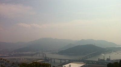 Photo of Mountain 黄金山 (Mt.Ogonzan) at 南区黄金山町, 広島市, Japan