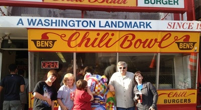 Photo of Hot Dog Joint Ben's Chili Bowl at 1500 S Capitol St Se, Washington, DC 20003, United States