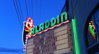 Photo of Rock Club Aladdin Theater at 3017 Se Milwaukie Ave, Portland, OR 97202, United States