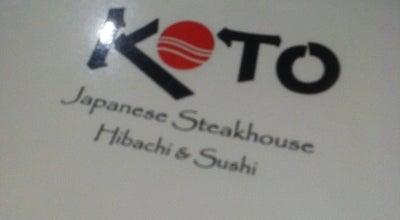Photo of Japanese Restaurant Koto Japanese Steak House at 792 Shelburne Rd, South Burlington, VT 05403, United States