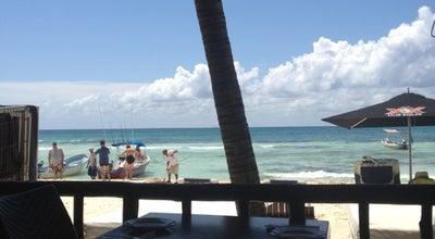 Photo of Nightclub The Blue Parrot Beach Club at 12 Nte. Y 1ª Av., Playa del Carmen 77710, Mexico