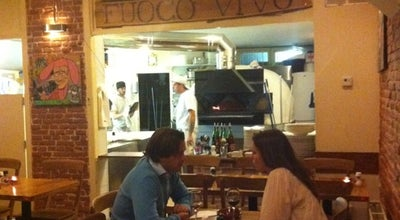 Photo of Italian Restaurant Fuoco Vivo at De Clercqstraat 12, Amsterdam 1052 NC, Netherlands