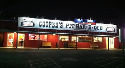 Photo of BBQ Joint Cooper's Old Time Pit Bar-B-Que at 1125 N Loop 337, New Braunfels, TX 78130, United States