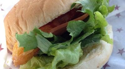 Photo of Burger Joint サフラーハンバーガー 江俣店 at 江俣2-13-15, 山形市 990-0861, Japan
