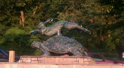 Photo of Public Art Tortoise and Hare Statue at Broadway, Bronx, NY 10471, United States