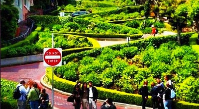 Photo of Monument / Landmark Lombard Street at Lombard St, San Francisco, CA 94109, United States
