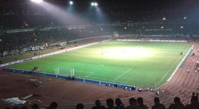 Photo of Soccer Stadium Stadion Gelora Bung Tomo at Komplek Surabaya Sport Centre (ssc), Surabaya, Indonesia
