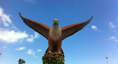 Photo of Monument / Landmark Eagle Square (Dataran Lang) at Persiaran Putra, Langkawi 07000, Malaysia