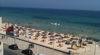 Photo of Beach Boujaafar | بوجعفر at Boulevard Hédi Chaker, Sousse 4000, Tunisia