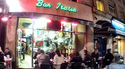 Photo of Italian Restaurant Bar Italia at 22 Frith Street, London W1D 4RP, United Kingdom