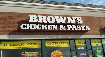 Photo of Fried Chicken Joint Brown's Chicken at 21120 S La Grange Rd, Frankfort, IL 60423, United States