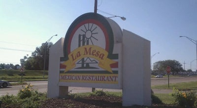 Photo of Mexican Restaurant La Mesa at 1401 Fort Crook Rd., Bellevue, NE 68005, United States
