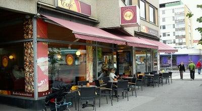 Photo of Cafe Cafe Aamurusko at Tammelan Puistokatu 30-32, Tampere 33100, Finland