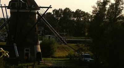 Photo of Monument / Landmark Mallemolen (Molen van de Oostpolder in Schieland) at Eerste Moordrechtse Tiendeweg 3, Gouda 2802 AB, Netherlands