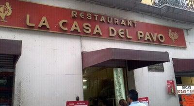 Photo of Mexican Restaurant La Casa Del Pavo at Motolinia 40, Cuauhtemoc 06000, Mexico