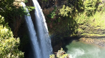 Photo of Scenic Lookout Wailua Falls at Ma'alo Road, Wailua, HI, United States