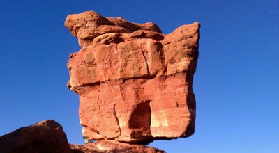 Photo of Scenic Lookout Balanced Rock At Garden Of The Gods at Colorado Springs, CO 80904, United States