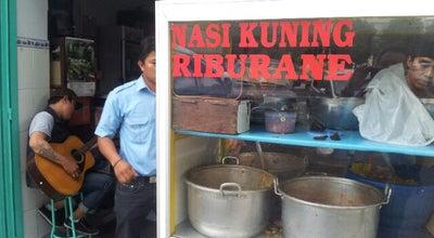 Photo of Breakfast Spot Nasi Kuning Riburane at Jl. Riburane, Makassar, Indonesia