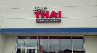 Photo of Thai Restaurant Simply Thai at 235 Strander Blvd #140, Tukwila, WA 98188, United States