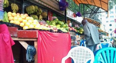 Photo of Farmers Market Fruits Place Outside Nairobi Hospital at Nairobi, Kenya