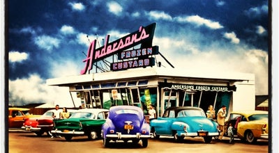 Photo of Ice Cream Shop Anderson's Frozen Custard at 4855 Transit Rd, Lancaster, NY 14043, United States