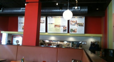 Photo of Mediterranean Restaurant Zoës Kitchen at 1028 Oberlin Rd, Raleigh, NC 27605, United States