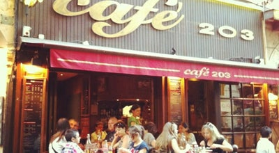Photo of Bar Café 203 at 9 Rue Du Garet, Lyon 69001, France