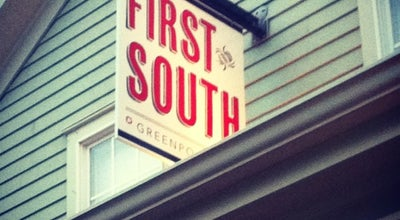 Photo of American Restaurant First And South  at 100 South St, Greenport, NY 11944, United States