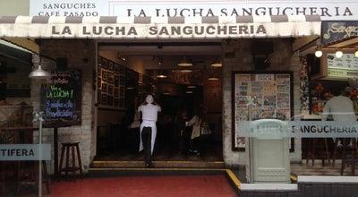 Photo of Sandwich Place La Lucha Sanguchería Criolla at Psje. Marcelino Champagnat 139, Lima 18, Peru