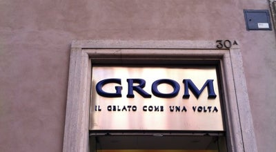 Photo of Ice Cream Shop Grom at Via Della Maddalena, 30, Roma 00186, Italy