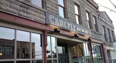 Photo of Brewery Carlyle Brewing Co. at 215 E State St, Rockford, IL 61104, United States